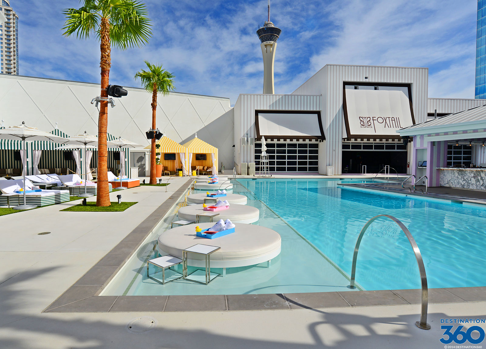 Rooftop Pools in Vegas