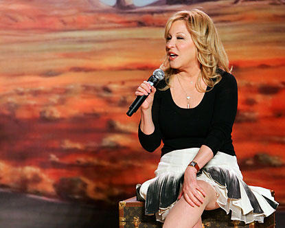 Bette Midler in Las Vegas