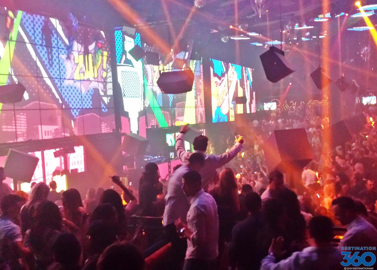 Light Las Vegas Mandalay Bay Nightclub Cirque du Soleil Club