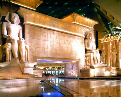 Las Vegas Luxor Entrance