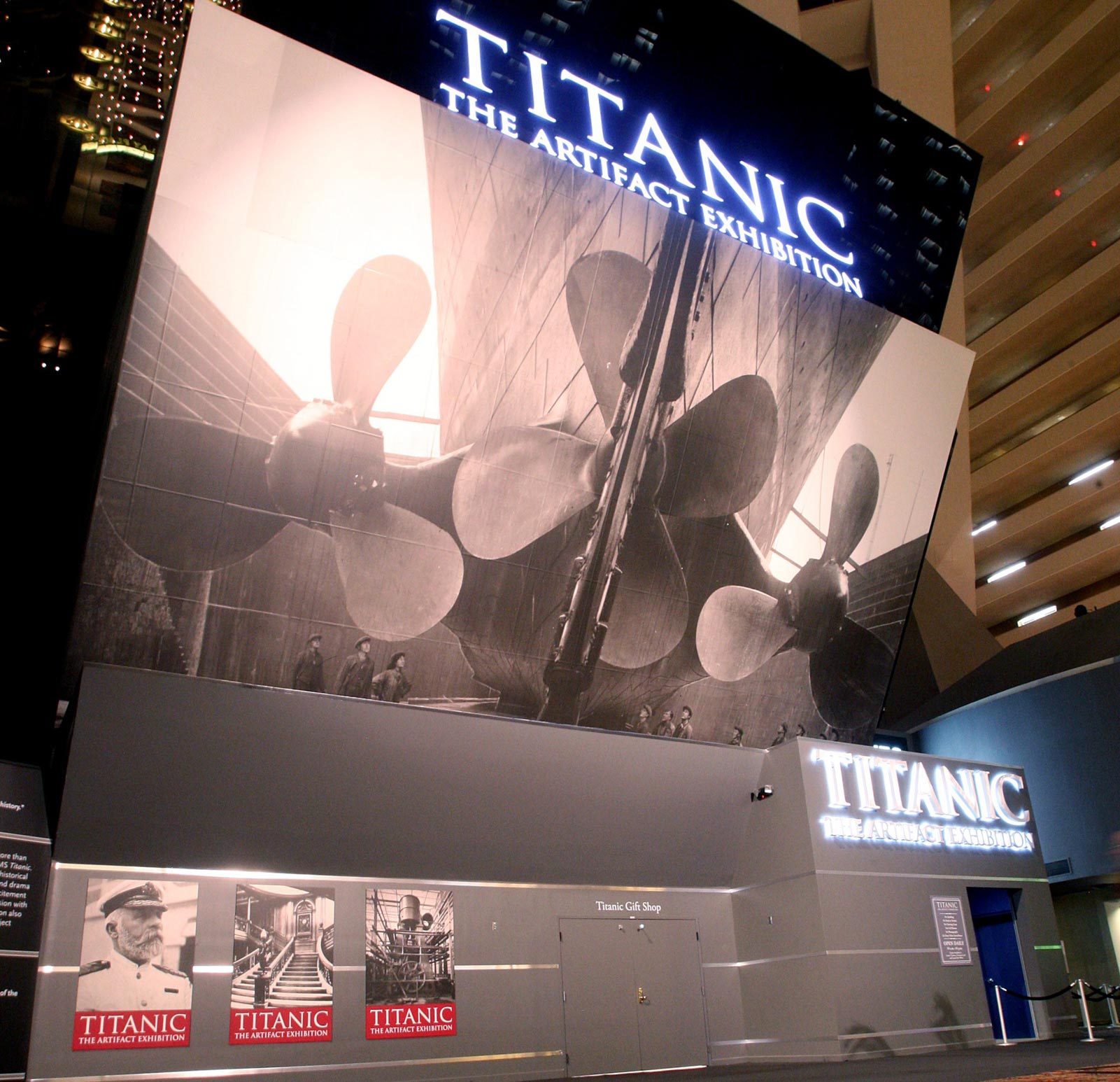Luxor Titanic Exhibit