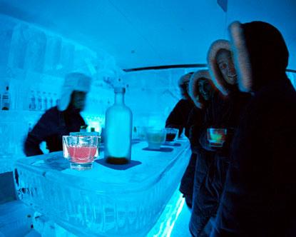 Las Vegas Ice Bar Minus5 Ice Lounge