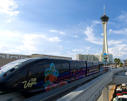 MGM Monorail Station Virtual Tour