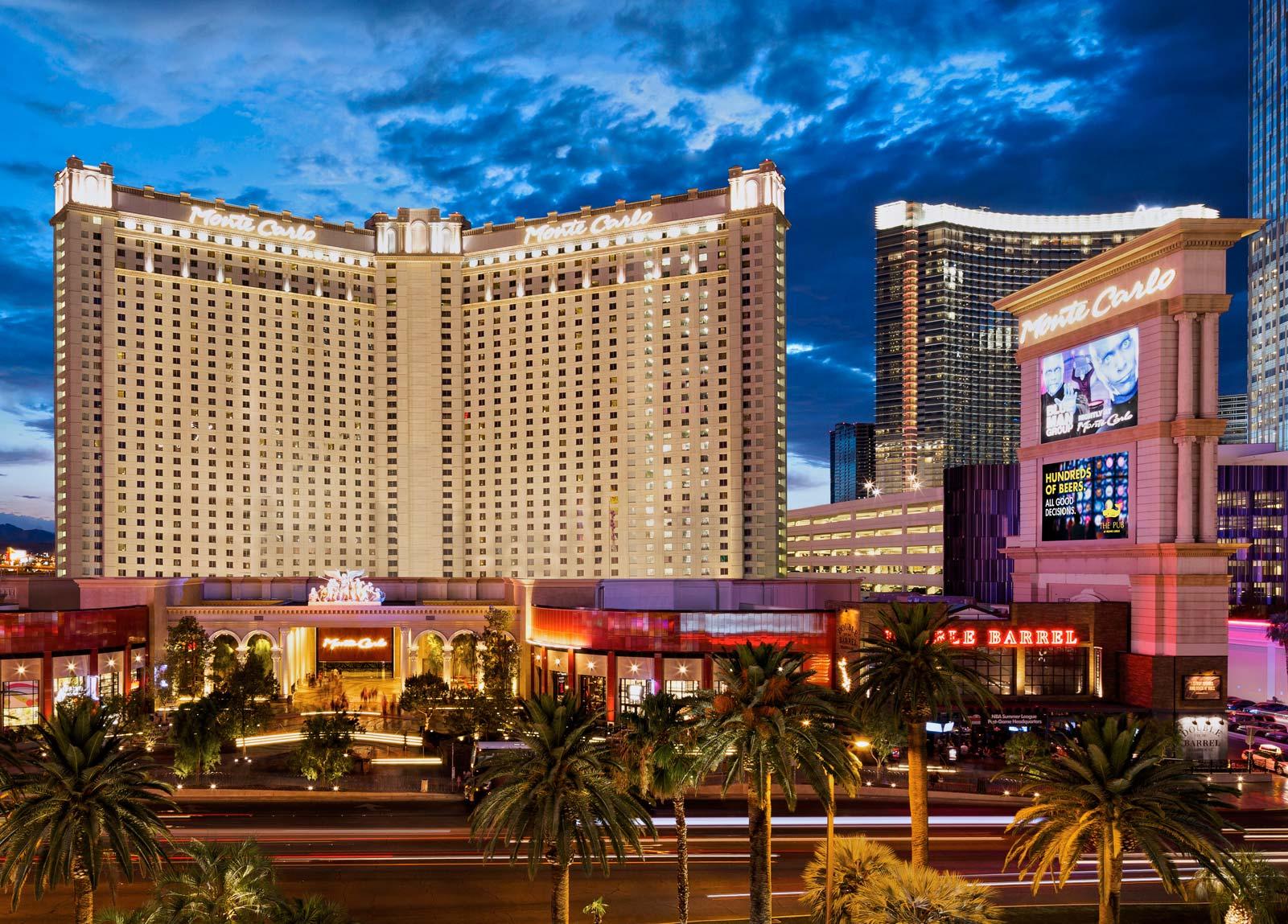 monte carlo hotel in las vegas - monte carlo resort las vegas