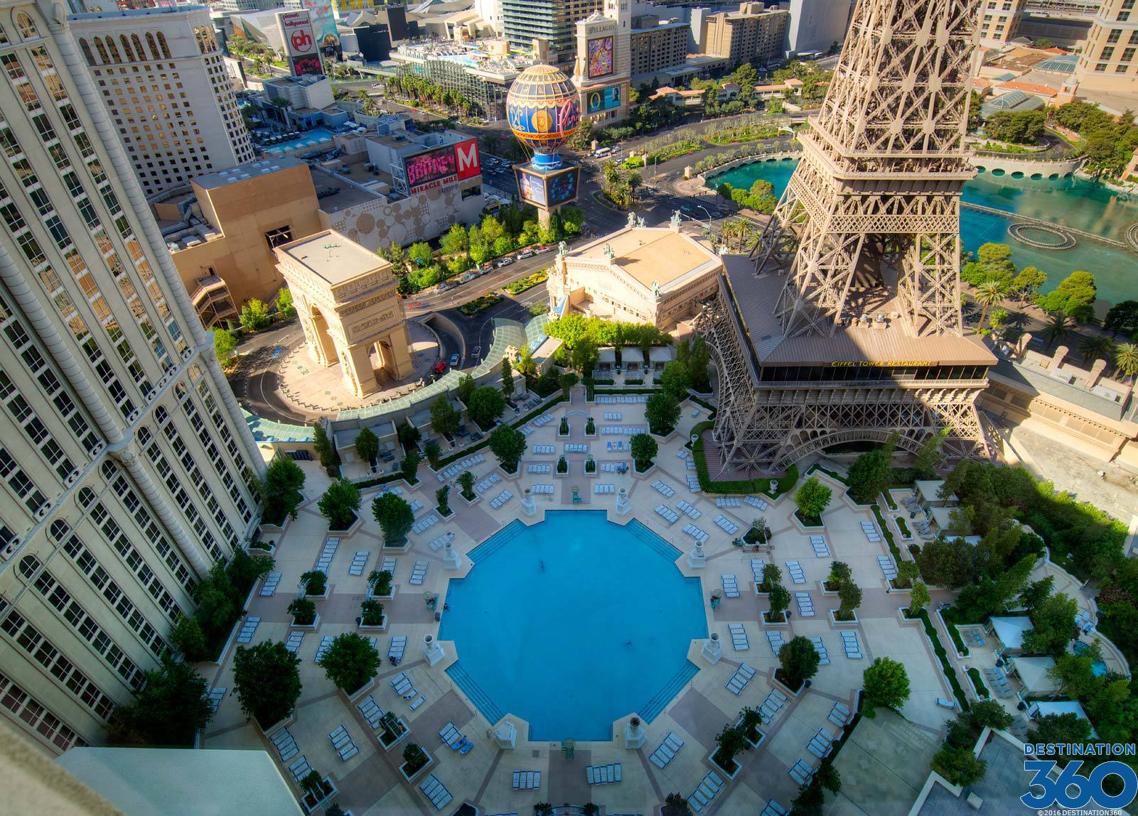 Paris Pool Paris Las Vegas Hotel Pool