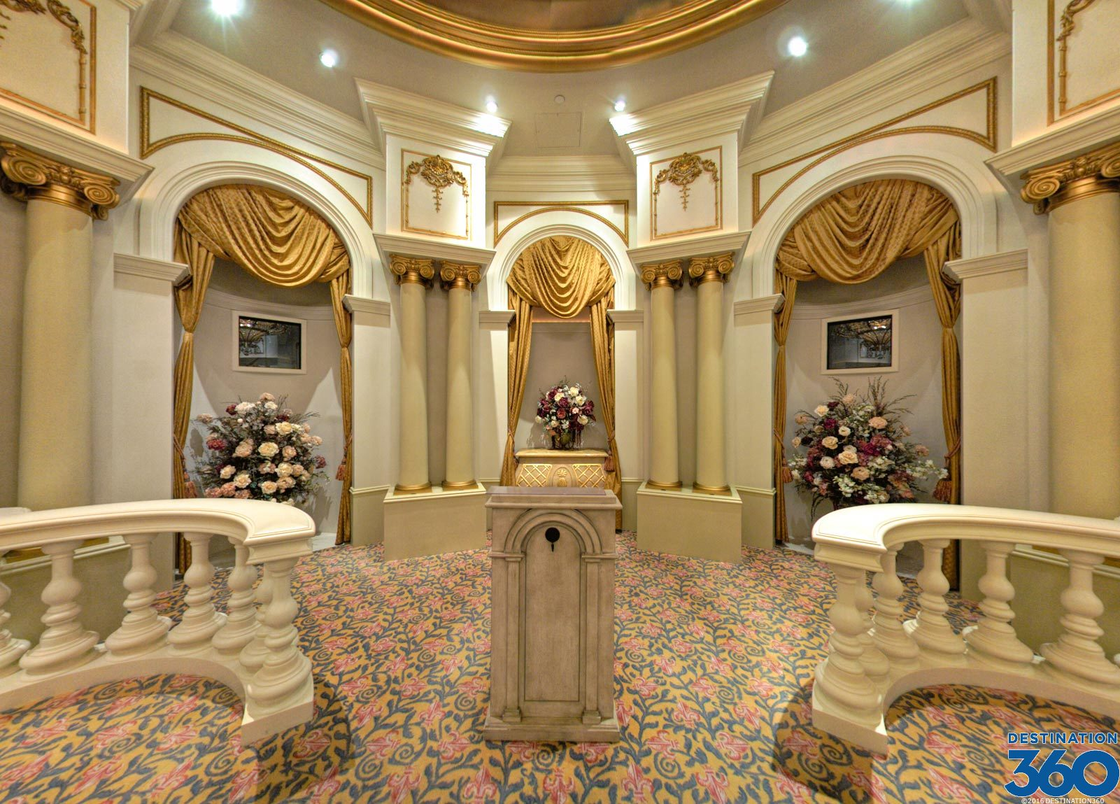 The Paris Las Vegas wedding chapel is a highly popular place for couples to