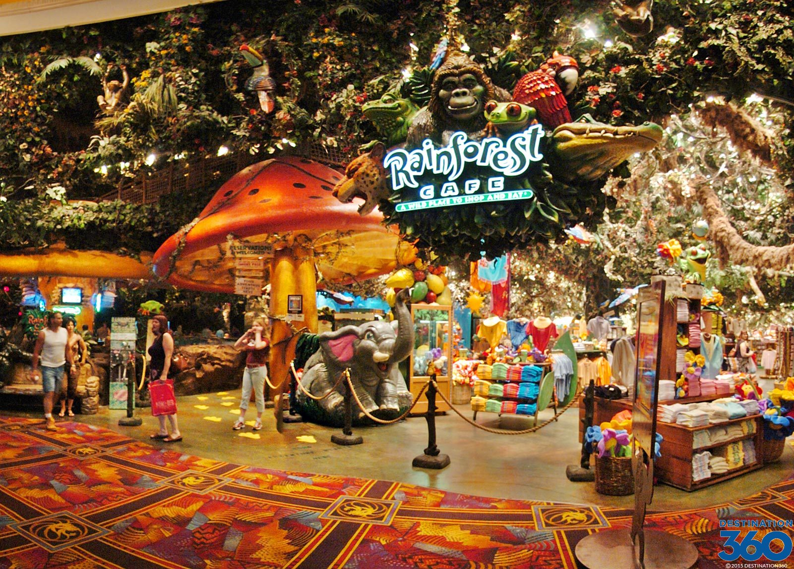 Rain Forest Cafe Las Vegas