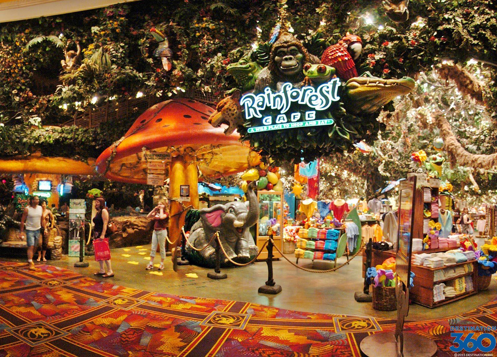 Rainforest Cafe Las Vegas Mgm