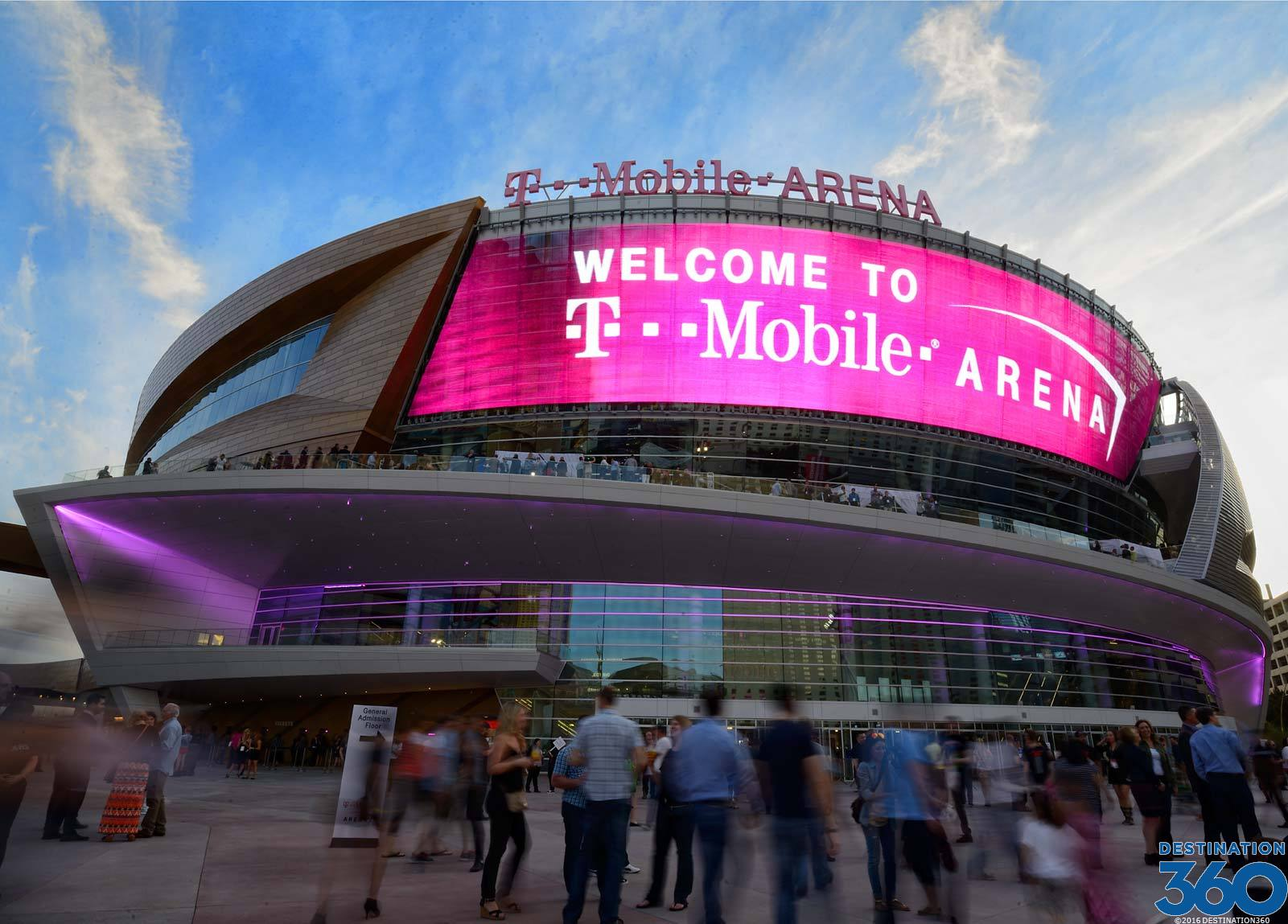 T-Mobile Arena Virtual Tour