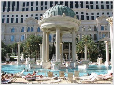 Caesars Palace Pools
