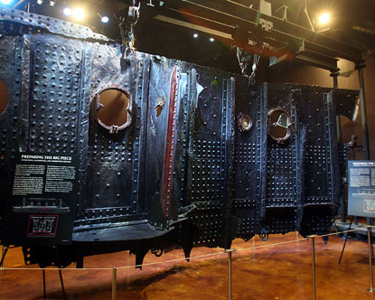 The Titanic Artifact Exhibition at the Luxor Hotel and Casino features a