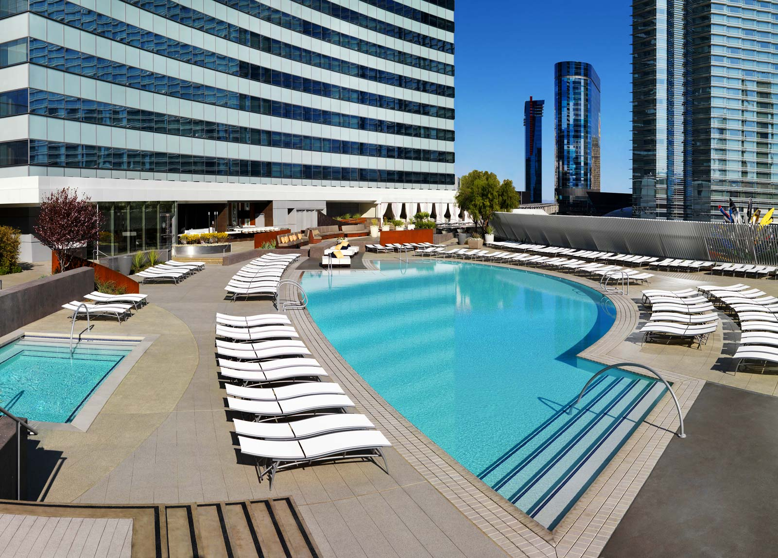 Vdara Las Vegas Pools