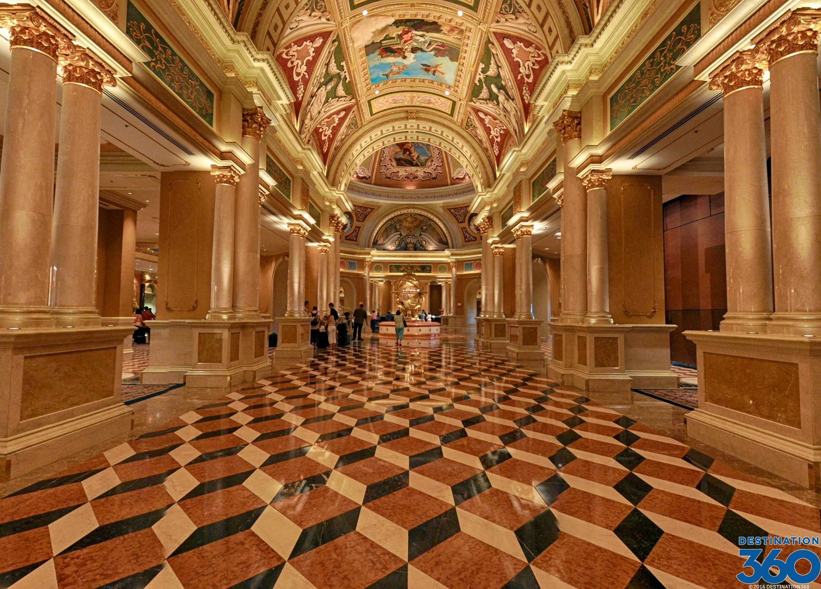 Venetian Las Vegas Lobby Inside Venetian Hotel Las Vegas