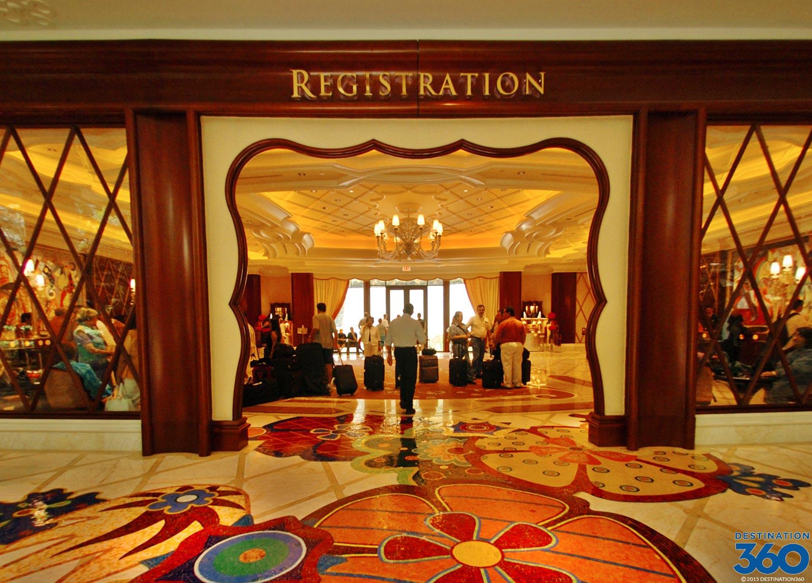 Wynn Hotel Lobby Inside The Wynn Las Vegas