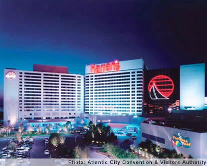 Harrahs Hotel Atlantic City