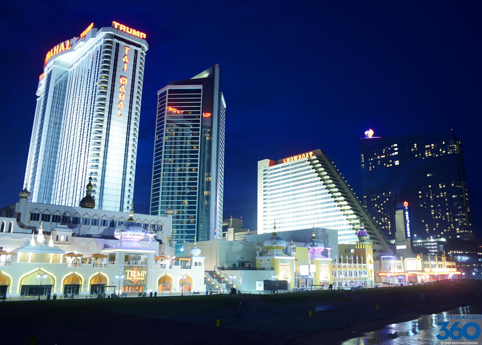 Search hundreds of travel sites at once for hotels in Atlantic City