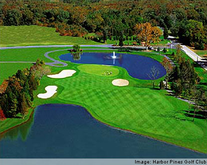 Atlantic City Golf >> Harbor Pines Golf Club Harbor Pines Golf Course Atlantic City