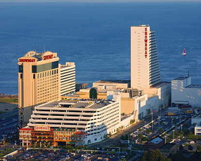 The Showboat Hotel Atlantic City is found in Atlantic City and is owned by