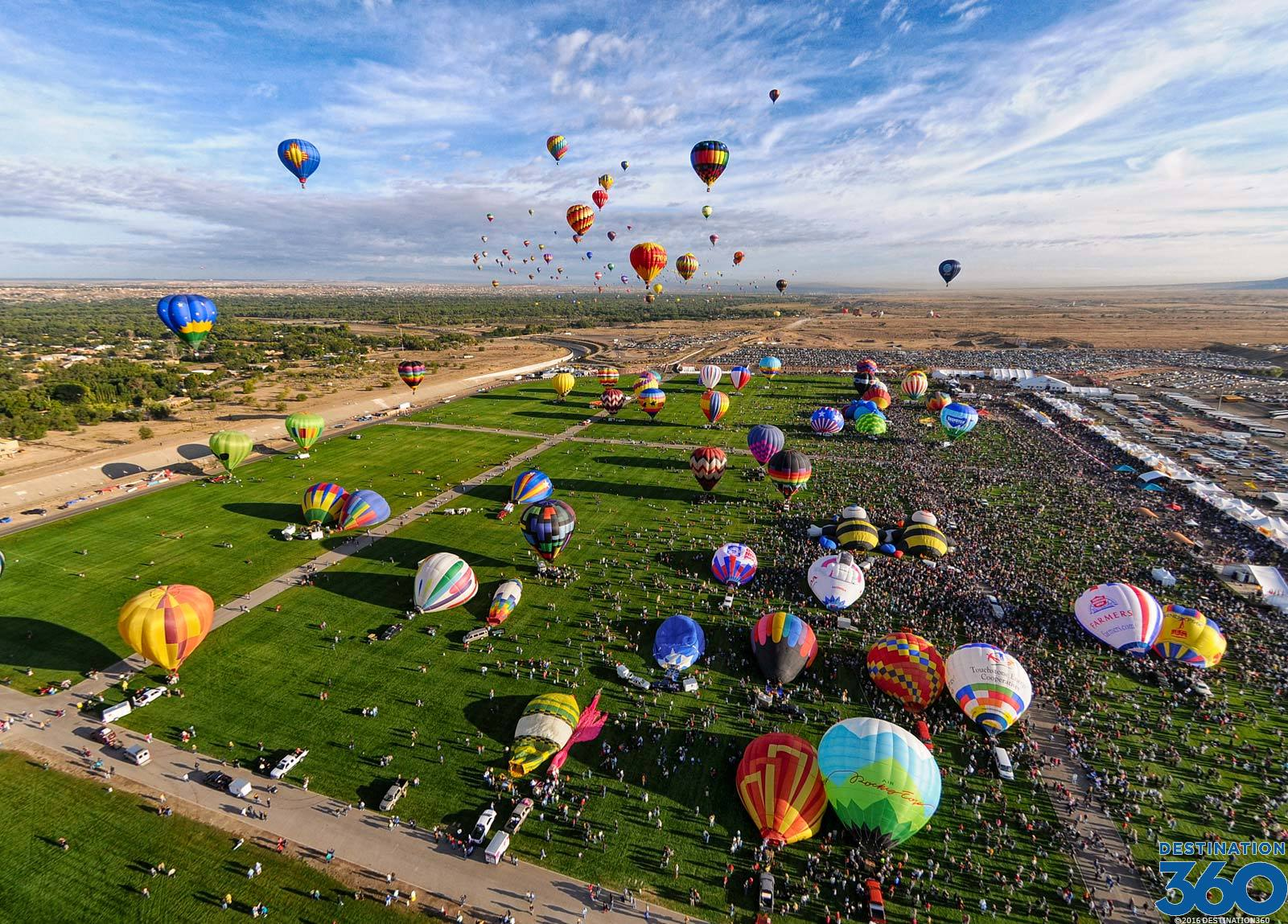 Albuquerque Balloon Festival Virtual Tour
