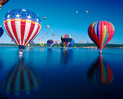 Hot Air Balloons New Mexico