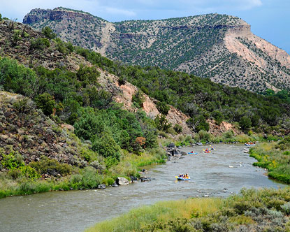 New Mexico Rafting