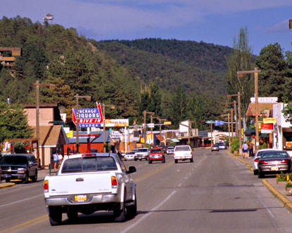 "Ruidoso New Mexico was named after the Rio Ruidoso or ""The Noisy River""."