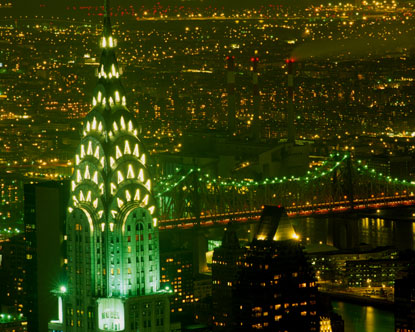 NEW YORK | Chrysler Building | 1046' Pinnacle / 925' Roof | 77 FLOORS | 1930