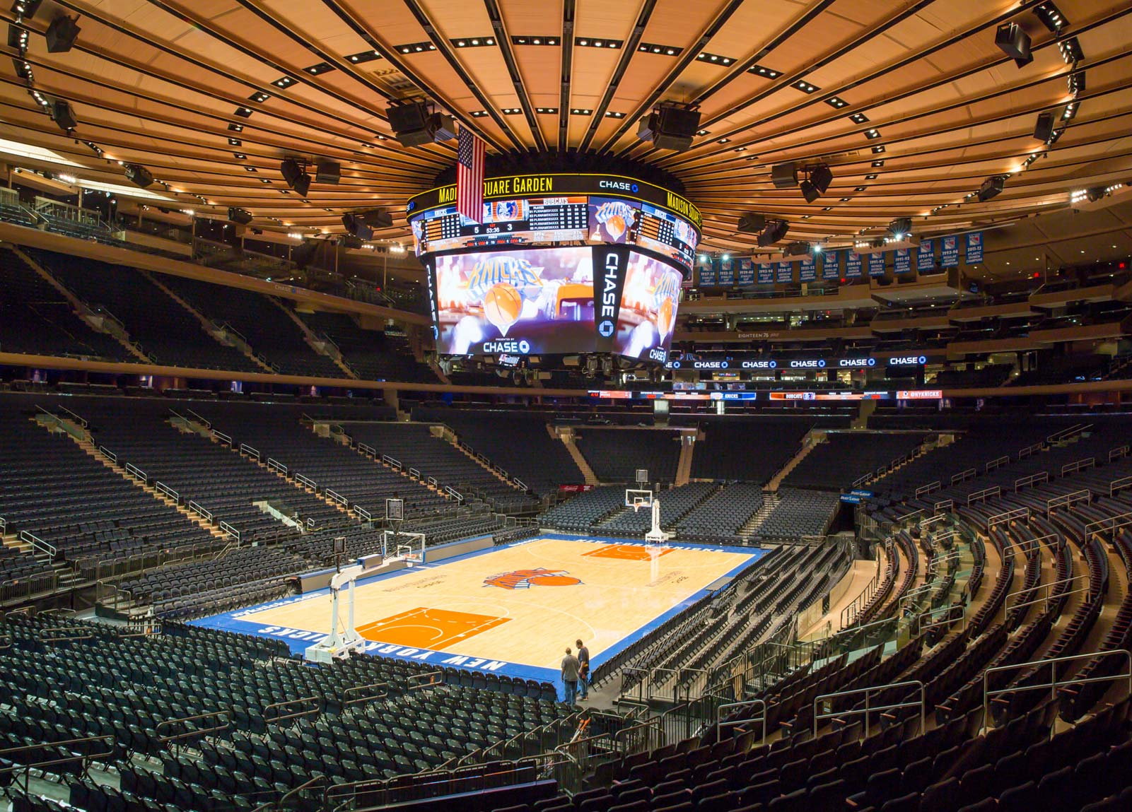 Madison Square Garden Gardens Seating