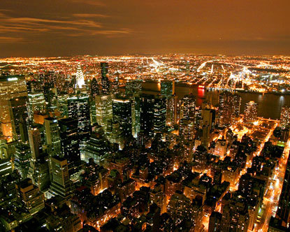 New York City is one of the major global cities, leading the world in almost