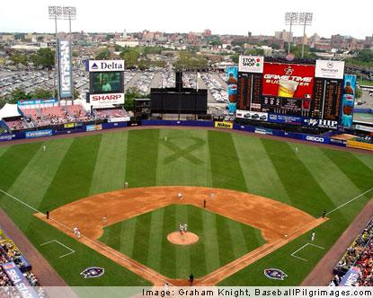 Shea Stadium New York Mets Baseball