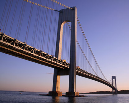 Verrazano Bridge - Verrazano Narrows Bridge