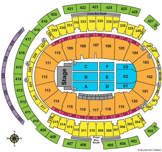 Madison square garden madison square gardens seating for Seating chart for madison square garden