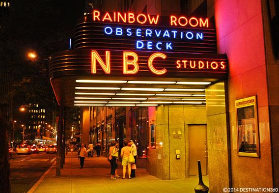 Rainbow Room Ge Building Restaurant Nbc Brunch