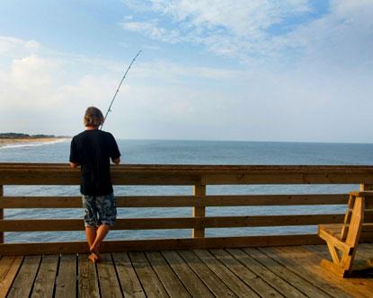 Sunset beach sunset beach north carolina for Best fishing in nc