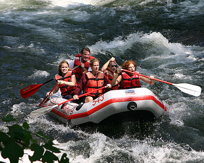 North Carolina Rafting