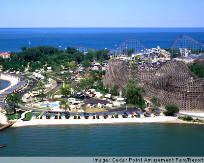 Cedar Point Amusement Park - Cedar Point Ohio