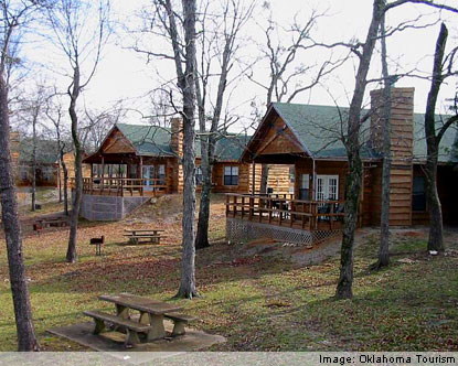 and premier in property vacation oklahoma lakefront safari ideas pin cabins rentals lake mountain amenities pinterest retreat cabin