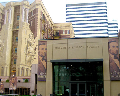 Oregon Historical Society History Museum In Portland