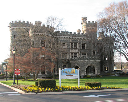 National Railroad Museum >> Grey Towers - Grey Towers Castle Pennsylvania