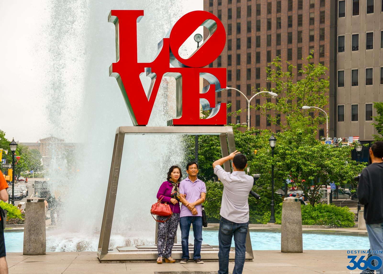 a visit to love park a great public space for couples to explore Check out zazzle's love park canvas prints and find a great piece of art for your home or office  more to explore  courting couples in the park canvas print.