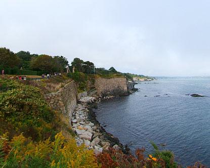 The Cliff Walk Rhode Island
