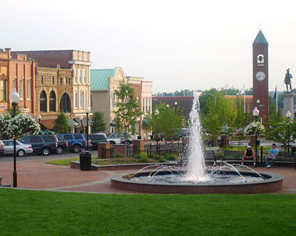 Spartanburg South Carolina is located next to the city of Greenville,