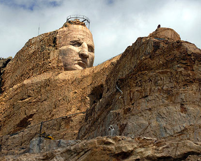 Chief Crazy Horse. Crazy Horse Memorial