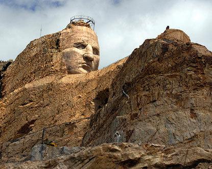 Crazy Horse Memorial Crazy Horse In South Dakota