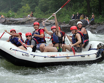 Tennessee Rafting