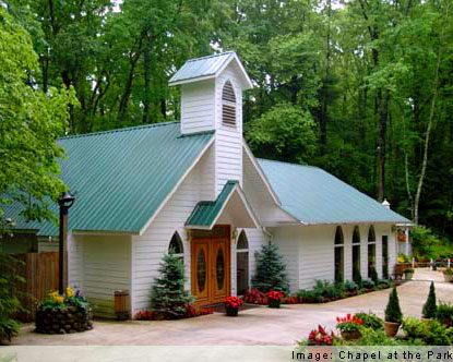 Gattlinburg tennesee wedding chapel