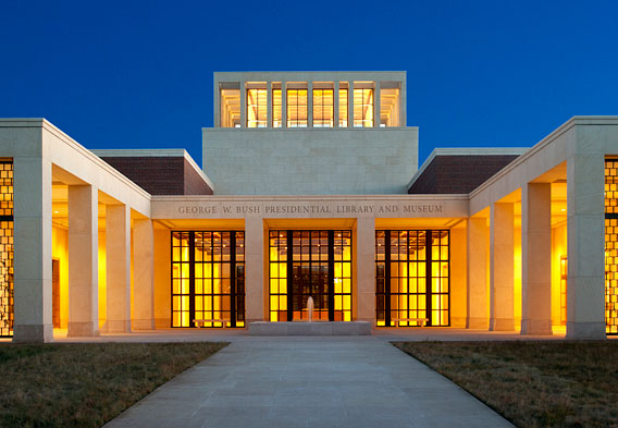 George W. Bush Presidential Library or Museum and Dallas Arboretum and Botanical Garden
