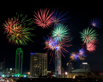 july 4th activities dfw