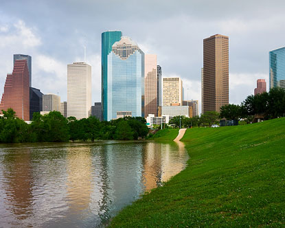 Houston Skyline Downtown Houston Houston Skyscrapers