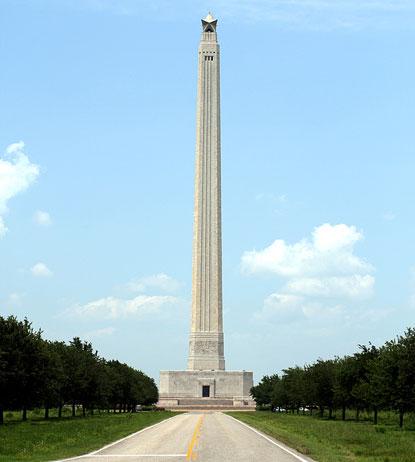 San Jacinto Monument Battleship Texas